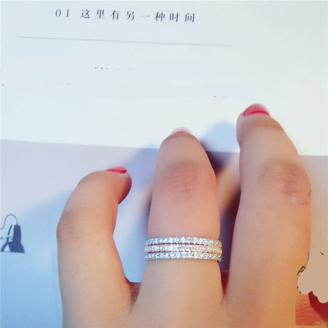 Simple Classic stamp exquisite fashion rings 4