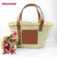 Bohemian Women Straw Beach Bags Large Ladies Handbag Summer Rattan Bag For femail 2018 Woven Handmade Travel Tote Bags Bolso