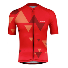 цены runchita 2019 short Sleeve Cycling Jerseys Roupa Ciclismo/ Bicycle Clothes/Quick Dry Bike Cycle Clothing 100% Polyester