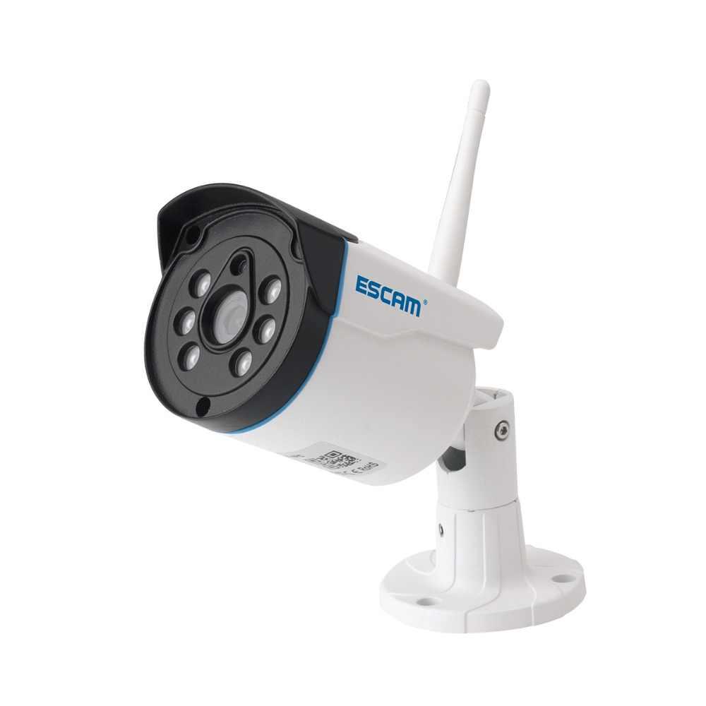Escam WNK404 4CH Wifi IP камеры Wifi NVR комплект HD 720P Инфракрасный Открытый водонепроницаемый IP66 день/ночное видение ИК-камера безопасности