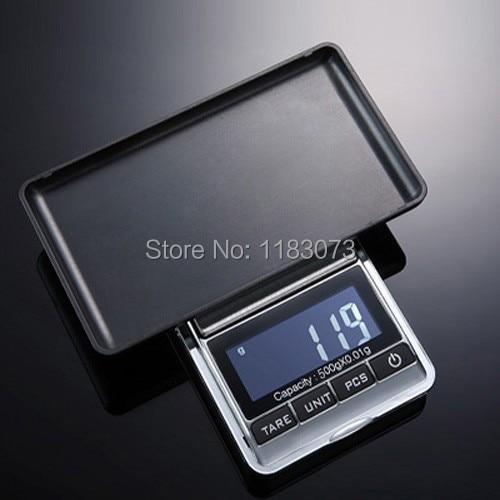 500g 0,01 Cyfrowa waga jubilerska 500g 0,01g Elektroniczna kuchnia - Przyrządy pomiarowe - Zdjęcie 3
