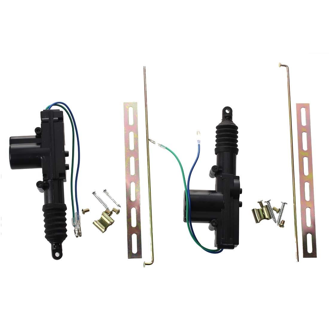 JFBL Hot sale 2 Universal Heavy Duty Power Door Lock Actuator dc Motor 2 Wire 12V