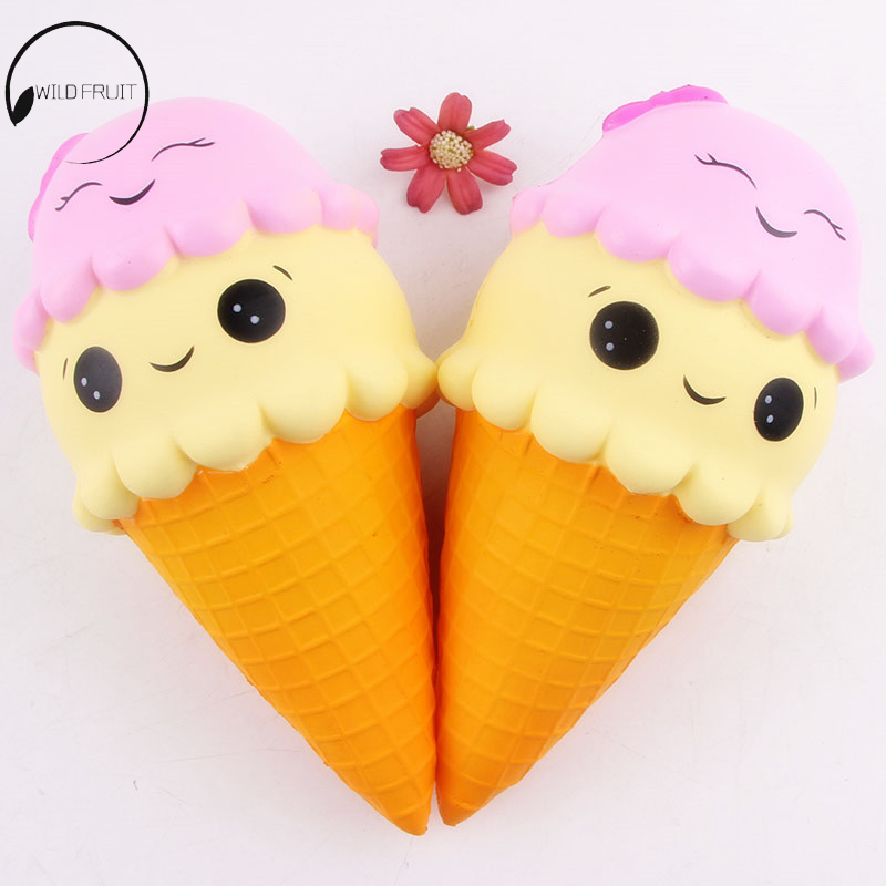 Cute Squeeze Exquisite Fun Ice Cream Scented Squishy Charm Slow Rising Simulation antistress funny gadgets interesting toys