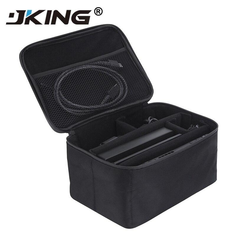 JKING Portátil Sacos De Armazenamento De Jogos Do Jogo Caso Alça de Proteção Carry Case Capa Zipper Interruptor de Proteção Shell Para Nintend