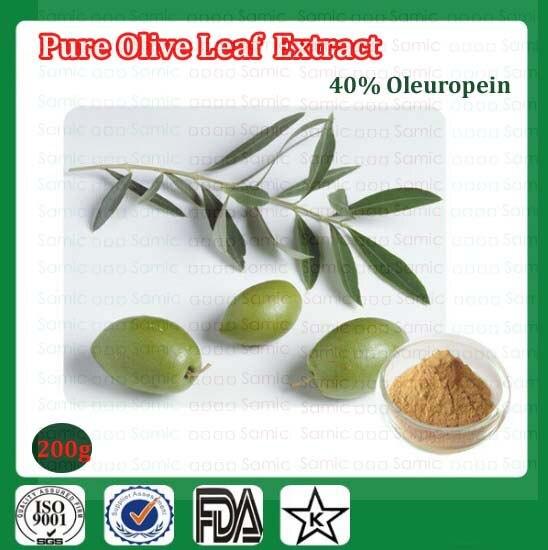 200g Pure Olive Leaf Extract Powder, 40% Oleuropein Dietary Supplement Powder Ehancing Immunity