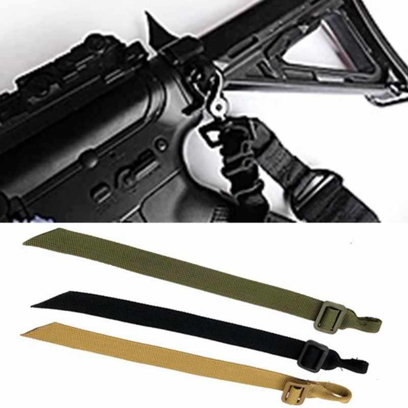 1 stks Buttstock Sling Mount Strap Loop Adapter Singels Rifle Attachment Verstelbare Tactical Gun Sling Airsoft Sling