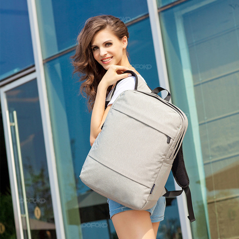 ФОТО Pofoko Brand High Quality Waterproof Laptop Backpack 15.6 inch for Men Women Laptop Bag Teenagers school bag for business trip