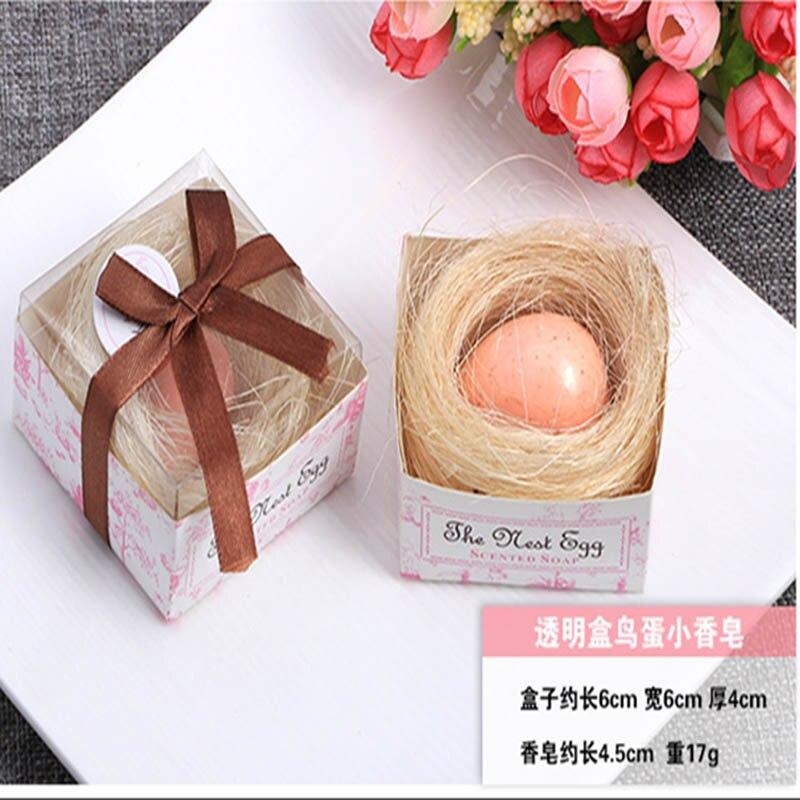 20 шт./лот мини-мыло ручной работы с ароматом для сувенир для свадебной вечеринки и детского душа подарок Свадебные сувениры Мыло для купания - Цвет: pink egg
