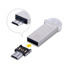 5Pcs/Lots DM OTG Adapter OTG Function Turn into Phone USB Flash Drive Mobile Phone Adapter Android Micro USB OTG Adapter