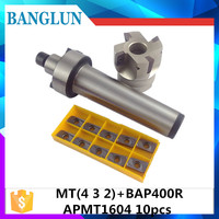 MT2 FMB22 M10 MT3 FMB22 M12 MT4 FMB22 M16 Shank BAP400R 50 22 Face Milling