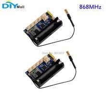2pcs/lot DIYmall LoRa Radio Node V1.0 868MHz RFM95 SX1276 for Arduino ATmega328P 3.7-12V uFL Antenna датчик diymall dht22 am2302 sht11 sht15 arduino fz0266
