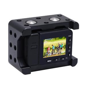 Image 3 - PULUZ דיור פגז CNC אלומיניום סגסוגת מגן כלוב & 37mm UV עדשת & קר נעל בסיס הר & בורג & חצובה מתאם עבור Sony RX0 השני