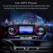 JINSERTA FM Aux Émetteur Modulateur Bluetooth Mains Libres Voiture Kit De Voiture Audio MP3 Lecteur avec Smart Charge Double USB Chargeur De Voiture