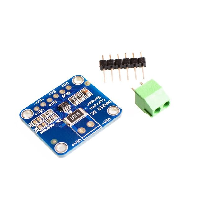 INA219 I2C interfaz de lado alto y lado DC Sensor de corriente de fuga de