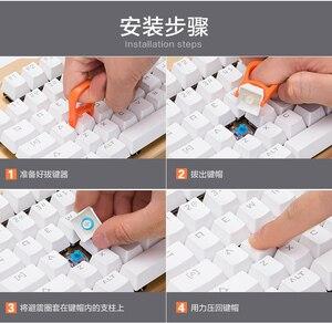 Image 2 - 104 Cái/gói Im Lặng Vòng Cao Su Giảm Tiếng Ồn Hấp Dẫn Vòng Silicone Cho Keycap Cơ Chơi Game