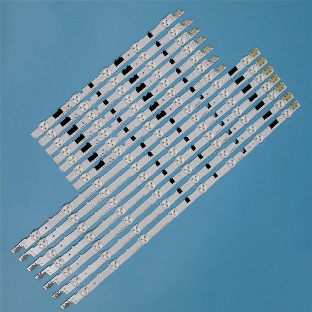 832 مللي متر 14 قطعة/مجموعة LED صفيف القضبان لسامسونج UE40F6200AK UE40F6200AS 40 بوصة التلفزيون الخلفية LED قطاع ضوء مصفوفة مصابيح العصابات