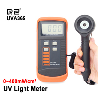 RZ 400m W/cm UV Light Meter UVA&UVB LSI circuit Tester UV Sensor Light Correction Filter UV Radiometers Tester UVA365