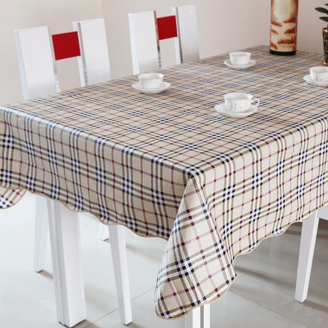 Buy hot high quality 152cm square pvc printed table cloth covers plastic - Heat resistant table cloth ...