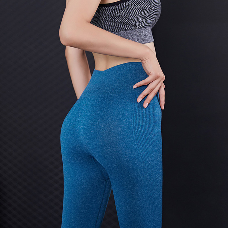 Women Fitness Leggings Dancing Running Sports Yoga Pant Compression High Waist Exercise Jogging Pants Gym Thick Tights Butt Lift(China)