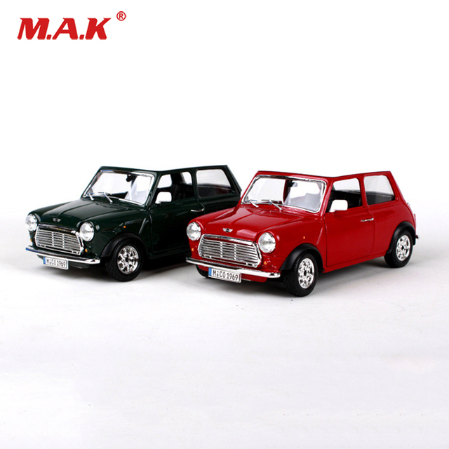 Collectible Car Model 1 24 Diecast Model Car 1969 Mini Cooper