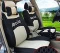 Para NISSAN X-TRAIL Paladin QASHQAI Altima Murano marca ventilar cubierta de asiento de coche cubierta de asiento de coche insignia del bordado
