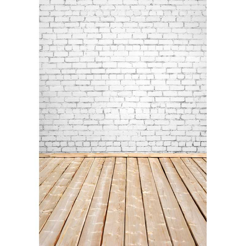 Thin vinyl wood floor and white bricks photography backdrops background photo studio wallpaper decoration backdrop  F-2816 black and white grids floor photography background hollow vinyl photo backdrops for photo studio funds props cm 4785