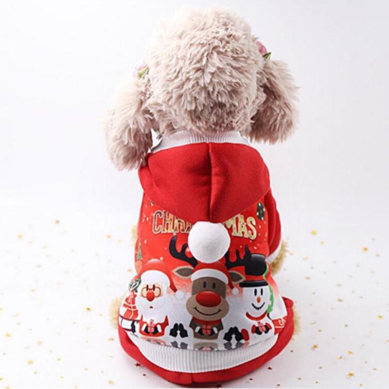 Christmas Dog Coat 1