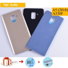 For Samsung Galaxy A8 2018 A530F SM-A530DS SM-A530F A530 Housing Battery Cover Back Cover Case Rear Door Chassis A5 2018 Shell цена и фото