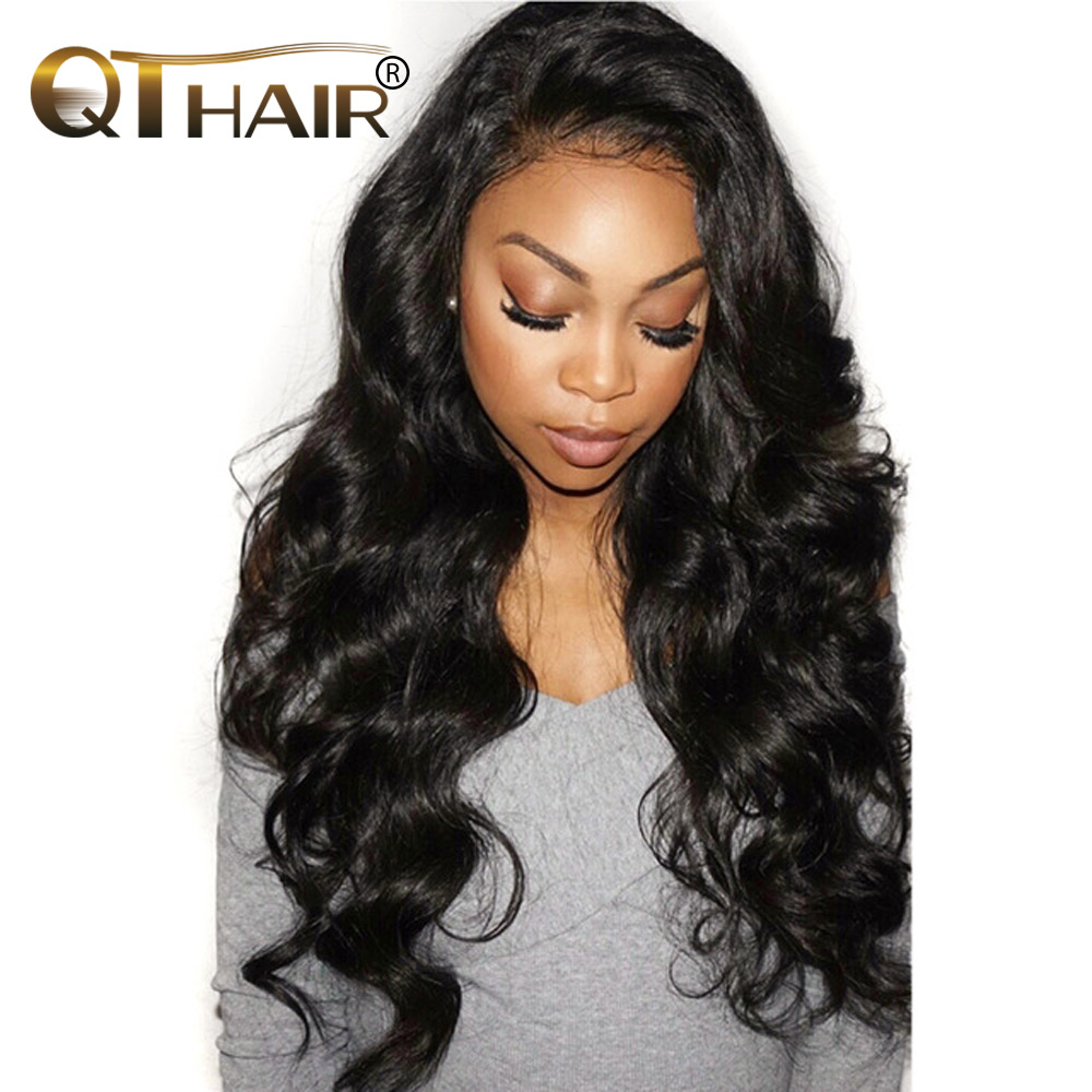"QThair Indian Hair Bundles Body Wave 8""-28"" Human Hair Extensions Non-remy Hair Can Buy 3/4 Bundles or More Free Shipping"