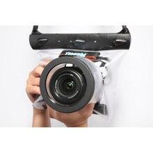 Câmera subaquática de Mergulho Caso Da Habitação Bolsa Saco Seco Câmera À Prova D' Água Dry Bag para Canon Nikon DSLR SLR