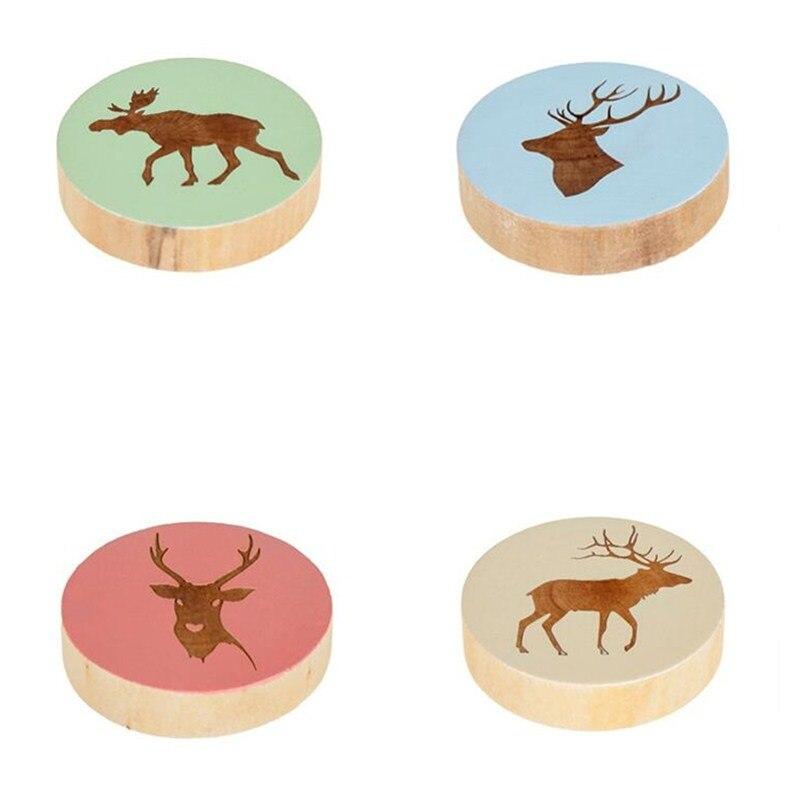 1Pcs Deer Wooden Bottle Opener  1