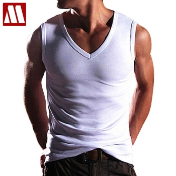 2021 New High Quality Fashion Men's Summer Clothing Robust Body Slimming Cotton Undershirt Shaper Vest Man's Muscle Tank Tops 1