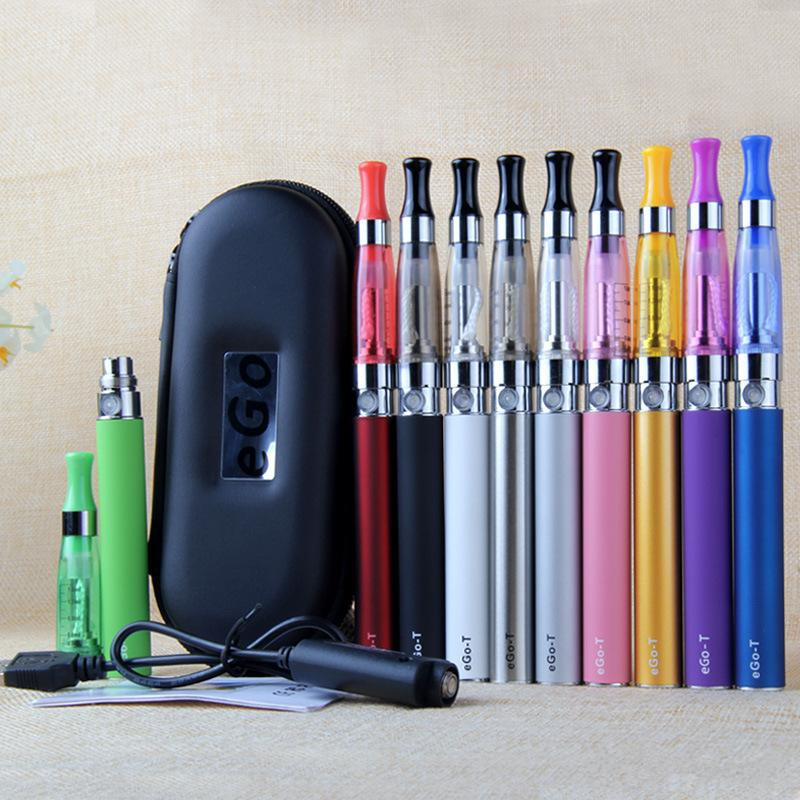 EGo Zipper Kit con CE4 Clearomizer Sigaretta Elettronica 650/900/1100 mAh Ego-T Batteria ce4 Serbatoio atomizzatore Vape Vaporizzatore Pen Kit