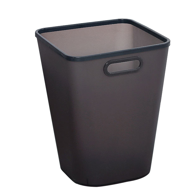 HIPSTEEN Large Capacity Pressing Ring Plastic Trash Can Household Garbage Storage Bin