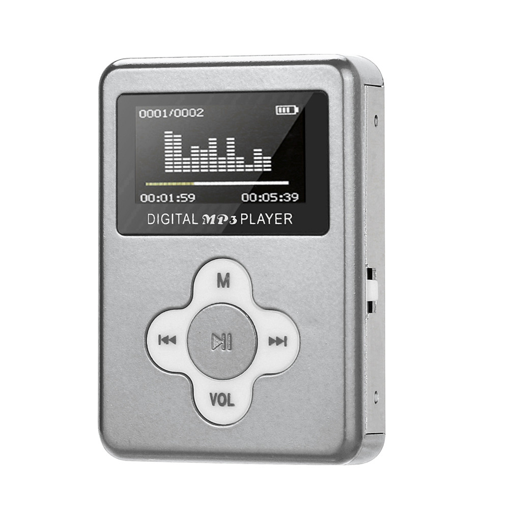 2019 USB Mini MP3 Player LCD Screen Support 32GB Micro SD TF Card SL 10#