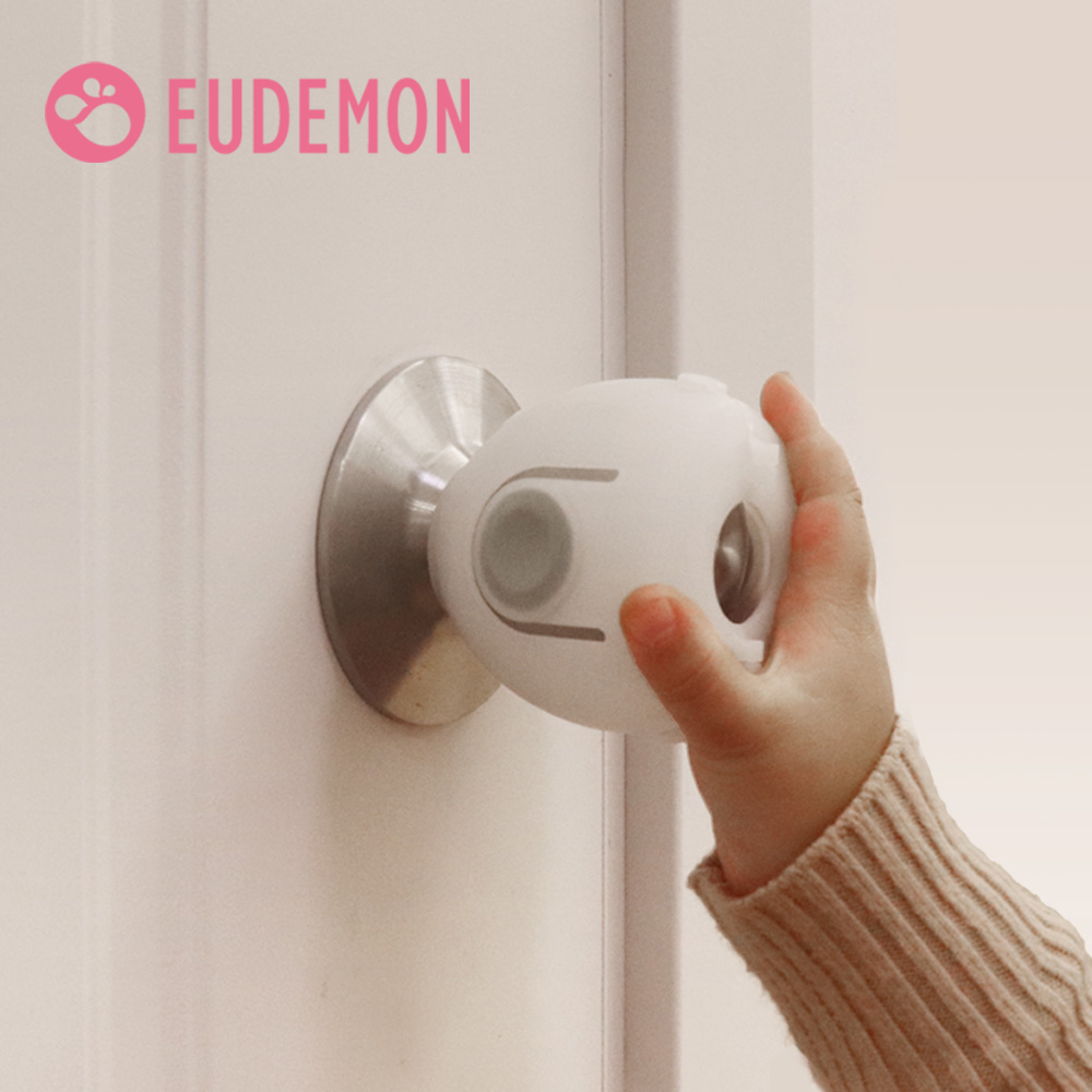 EUDEMON Door Round Knob Silicone Safety Cover Doorknob Guard Protector Baby Protector Child Protection Products Anti-collision
