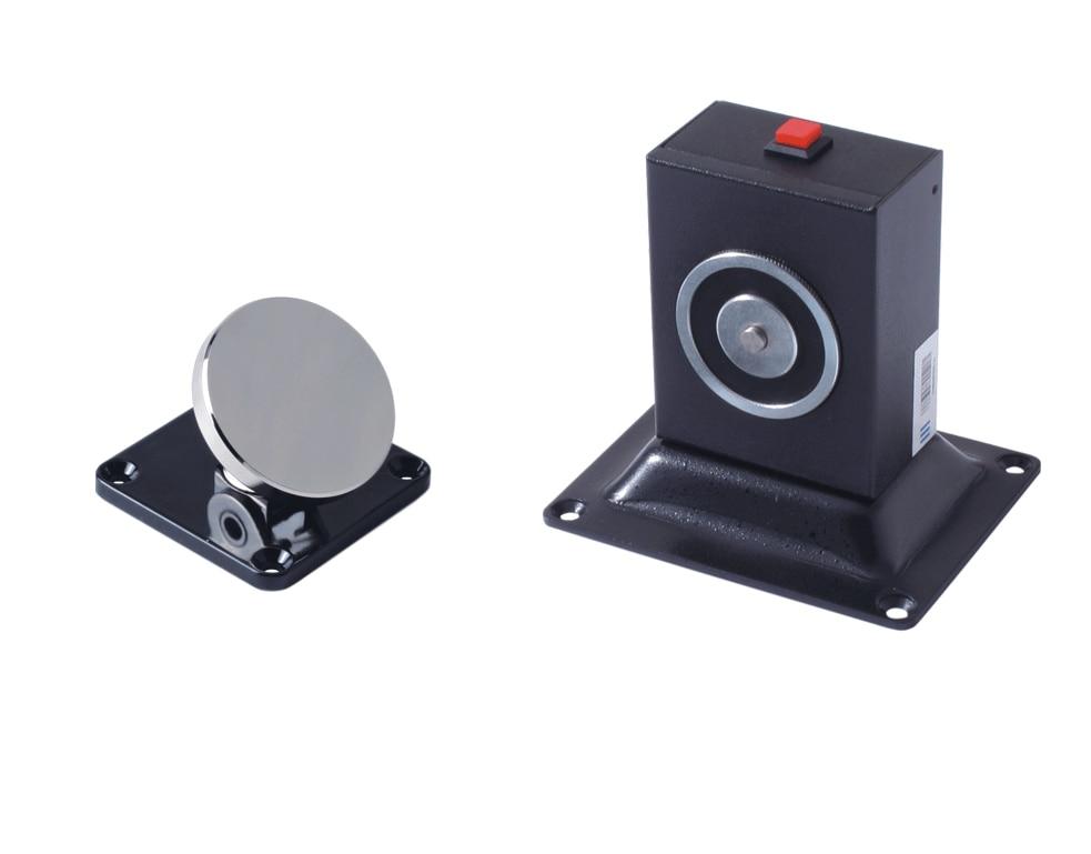 Fire Equipment Wall & Floor Mount Adjustable Type Electromagnetic Door Holder, Electric Door Stopper floor mount magnetic lock door stopper door holder 606