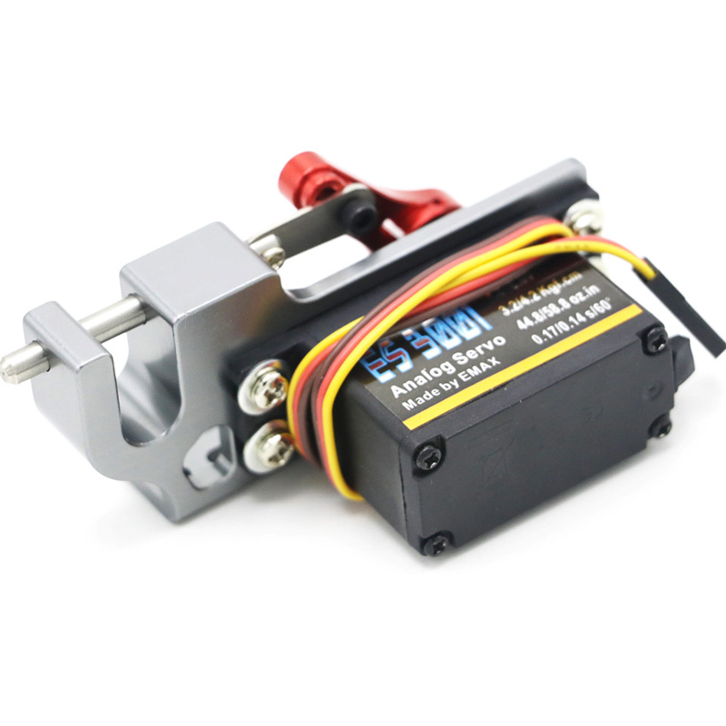 Servo Parabolic Switch Device Aerial Vehicle Throw Device Tarot Dispensers With Servo Arm For Remote Controller Cars RC ES3001
