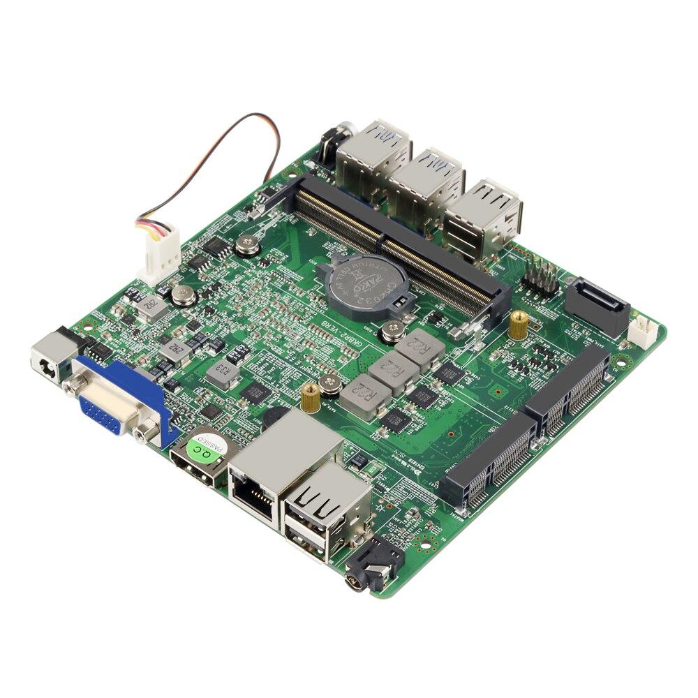 Nano ITX Mainboard Intel Core I5 8250U CPU DDR4 MSATA SATA 4xUSB3.0 4xUSB2.0 Mini PCI-E WiFi HDMI VGA Gigabit Ethernet LAN