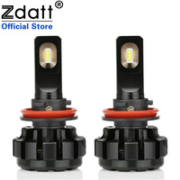 2Pcs Super Bright Led Lamp H11 H8 Canbus Headlights 60W 9600Lm Car Led Light 12V Fog