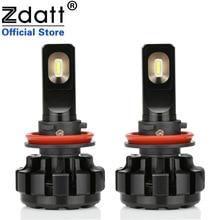 Zdatt 2 шт. супер яркий светодиодный светильник H11 H8 Canbus фары 100 Вт 12000Lm Автомобильные светодиодные 12 В туман лампа автомобилей