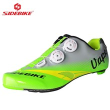 SIDEBIKE Riding Cycling Shoes Road Carbon Sapatilha Ciclismo Zapatillas Breathable Urltra-Light Bicycle Shoes Cycle Sneakers