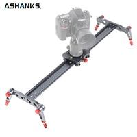 Ashanks 80cm 4 Bearings Camera Slider Carbon Fiber DV Slider Track Video Stabilizer Rail Track Slider