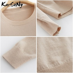 Yellow Cashmere Sweater For Women Sweaters Female Pink Wool Winter Woman Sweater Knitting Pullovers Knitted Sweaters Jumper 2019 6