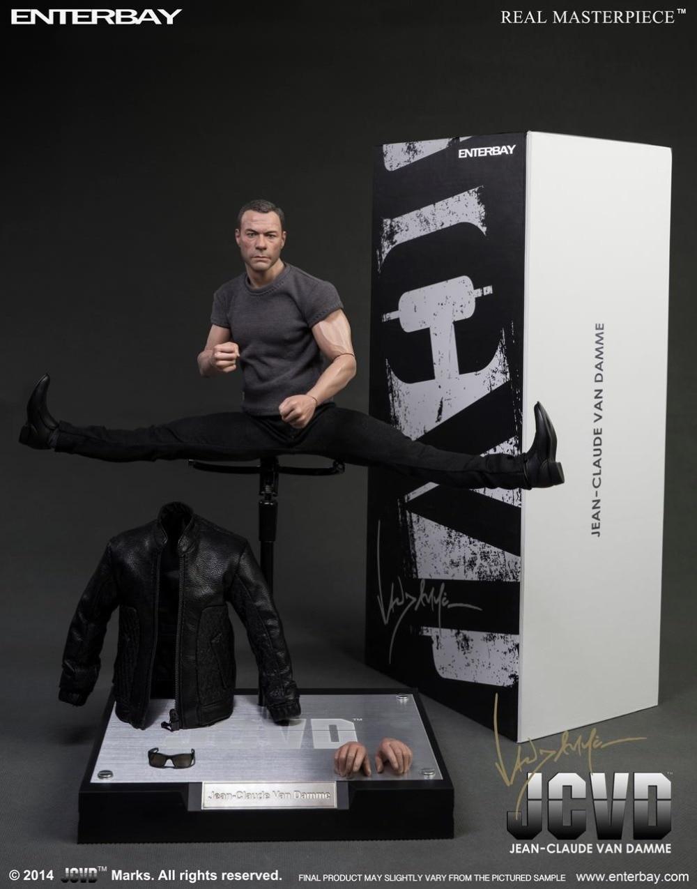 1/6 scale figure doll Jean-Claude Van Damme JCVD 12 Action figure doll Collectible Figure Plastic Model Toys