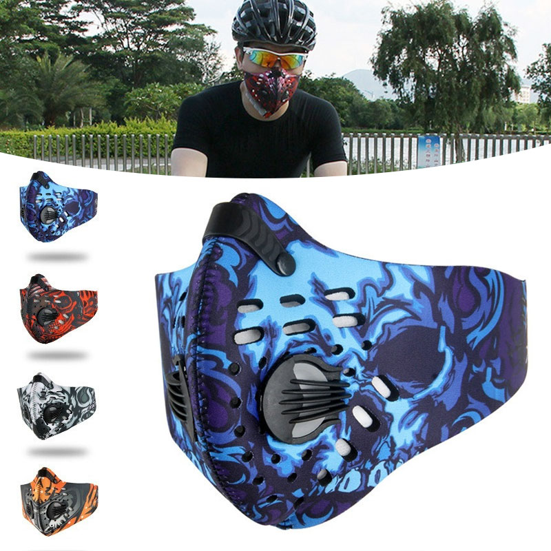 Men/Women Activated Carbon Dust-proof Cycling Face Mask Anti…