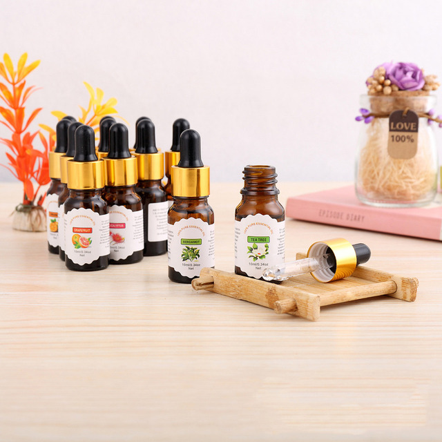 12 Flavors Plant Aromatherapy Essential Oils 12 pcs Set