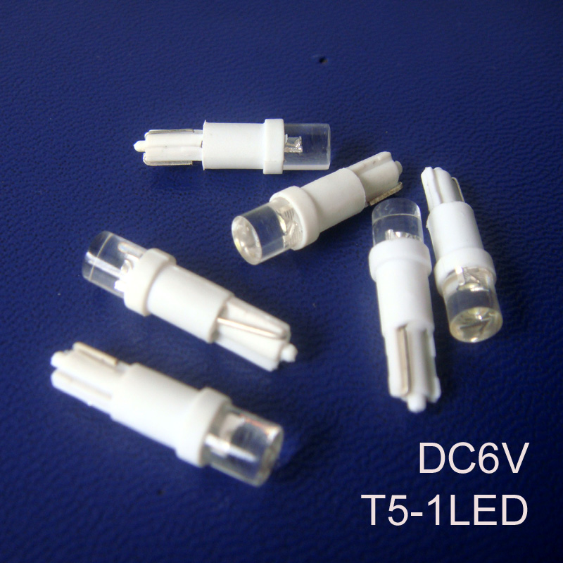 High quality T5 6.3V led Instrument lights,T5 led 6v signal lights,T5 led Indicator Light,T5 Pilot Lamp free shipping 500pcs/lot