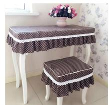 Little Cotton Cloth Dresser Desk Computer Dust Cover Nail Table Bedside Tablecloth Custom China