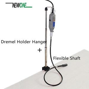 Image 3 - Uchwyt na wieszak Dremel i elastyczny wałek obrotowy do Mini wiertarki obrotowe akcesoria narzędziowe